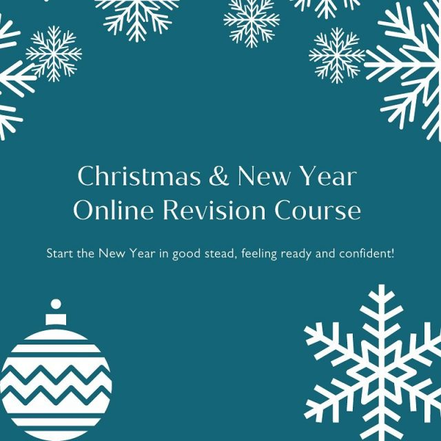 🎄 APPLICATIONS OPEN FOR CHRISTMAS & NEW YEAR 🎄   Start 2021 the right way with our Christmas and New Year revision courses.   It's more important than ever to stay ahead with your studies and make up for time lost during the disruption of this year.   Our courses are designed to consolidate subject knowledge, fill any gaps and boost your confidence, in order to give you the best possible head start!   The flexible structure of the programmes enables tutors to tailor the sessions to their students and address individual needs.   You will benefit from:   ⭐️ Expert and experienced tutors  ⭐️ Online small group or one-to-one tuition ⭐️ A large variety of subjects and exam boards across GCSE, IGCSE, A Level and IB ⭐️ Focus on a combination of subjects across their sessions  ⭐️ Exam practice with in-depth feedback  Course Dates:  Saturday 12th and Sunday 13th December Saturday 19th to Tuesday 22nd December  Saturday 2nd and Sunday 3rd January  Book now to avoid disappointment! 💻  📧 info@oxss.co.uk 📞 01865 240637 ⌨️ www.oxss.co.uk