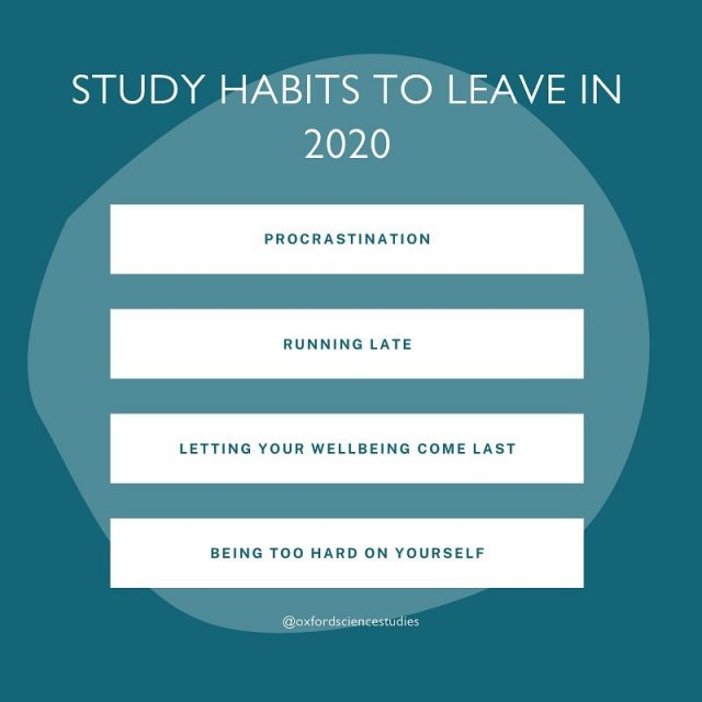 ⭐️ STUDY HABITS TO LEAVE IN 2020 ⭐️⁣ ⁣ 1. Procrastination⁣ Although, it can be quite tempting to leave things last minute, we can feel stressed in the moment, but we feel much better as soon as we finish. The longer you put work off, the harder it's going to be! ⁣ ⁣ 2. Running late ⁣ Whether that's at school or on Zoom/Microsoft Teams, running late doesn't look good! Make sure you leave enough time getting to school, going to classes or you can access your classes online. ⁣ ⁣ 3. Letting your well-being come last⁣ It can be super tiring studying day and night but make sure you have some ME time, whether that might be reading a book, going out for a run or spending time with your family. ⁣ ⁣ 4. Being too hard on yourself ⁣ Since GCSE and A Level exams have been cancelled this year, don't be too hard on yourself. Stay positive, committed and be consistent with your studies! ⁣ ⁣ If you're unsure on how to revise or need some tips, send us a message!  ⁣⁣ Post inspiration - Career Advice 💫  #studyhabits #studyinspiration #studyroom #studygramcommunity #studyroom #studytips #studystudy #studycommunity #studymode #revisiontips #gcse2021 #gcses2021 #alevels2021 #alevels #igcse #internationalbaccalaureate